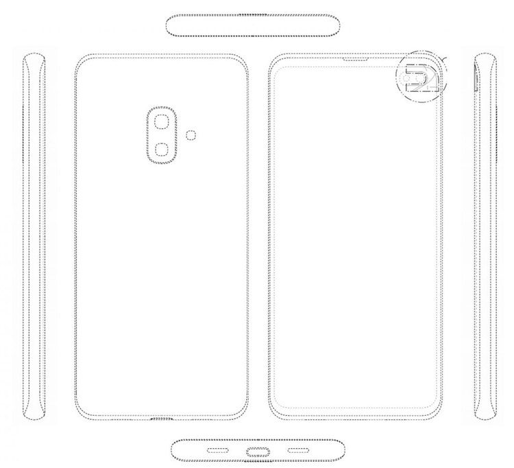 """Патент раскрывает возможный дизайн смартфона Samsung Galaxy S10 Lite"""""""