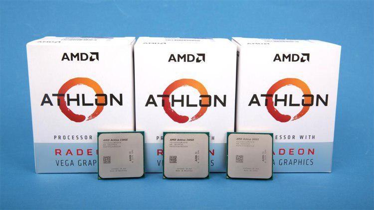 """AMD готовит к выпуску бюджетный двухъядерник Athlon 3000G"""""""