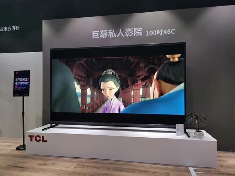"""Смарт-телевизор TCL диагональю 100 дюймов стоит $11 400"""""""