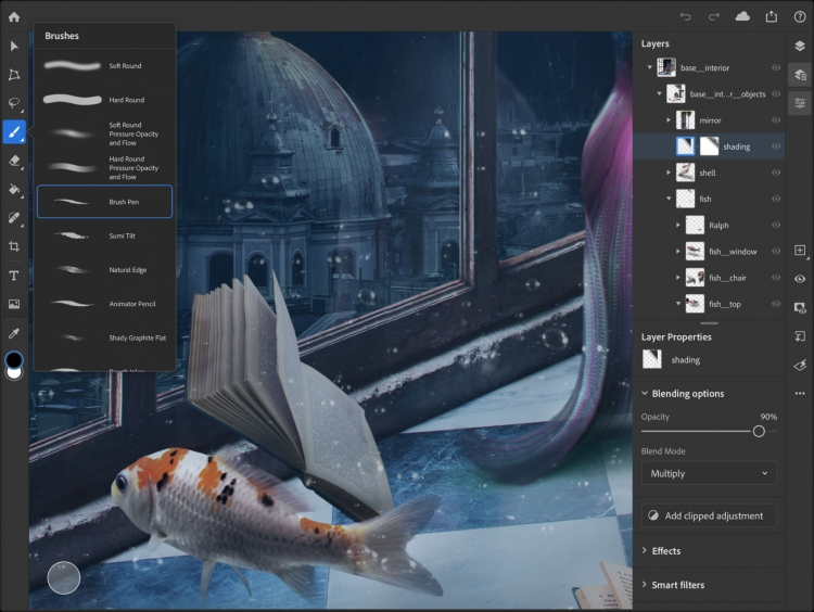 "Adobe Photoshop наконец можно установить на iPad"""