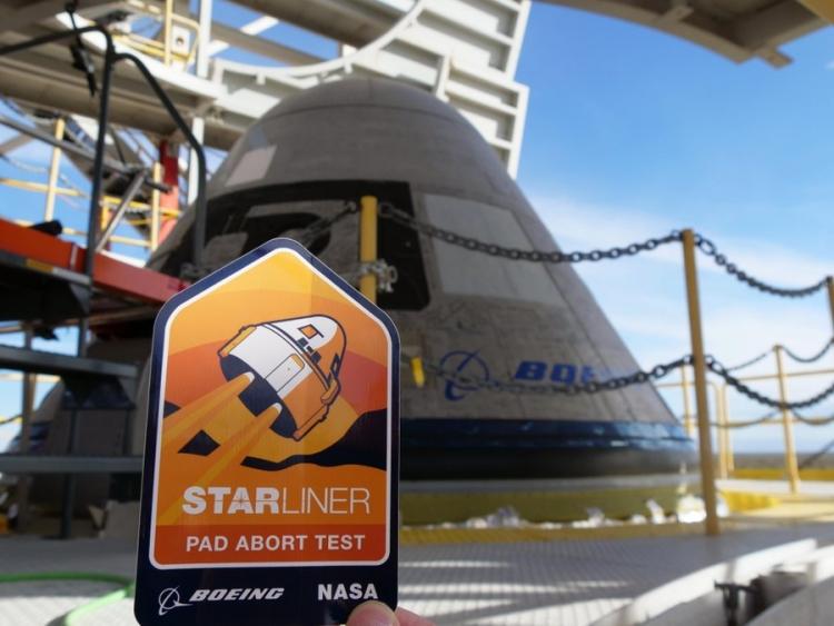 """Испытание ключевой системы космического корабля Boeing Starliner прошло успешно"""""""