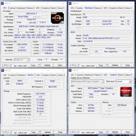 Основные характеристики тестовой модели HP 255 G7