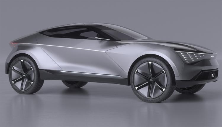 """KIA Futuron Concept, или купе-кроссовер будущего с электрическим приводом"""""""