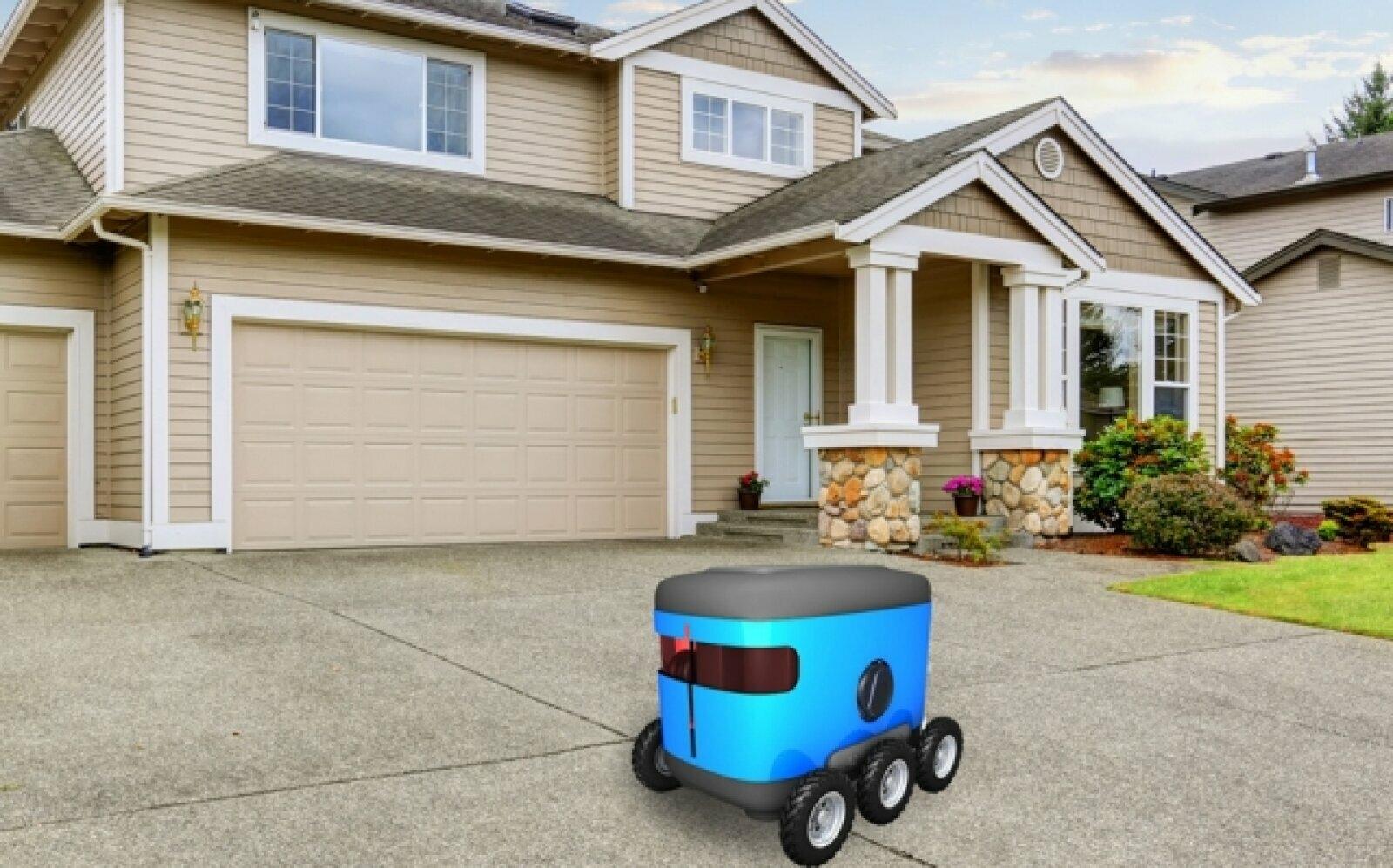 """MIT и Ford представили новый метод навигации для роботов-курьеров"""""""