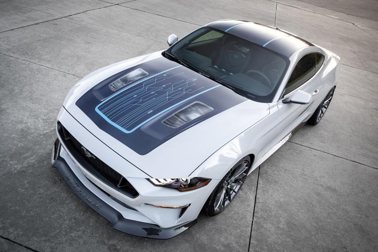 Ford Mustang Lithium: электрический маслкар мощностью свыше 900 лошадиных сил