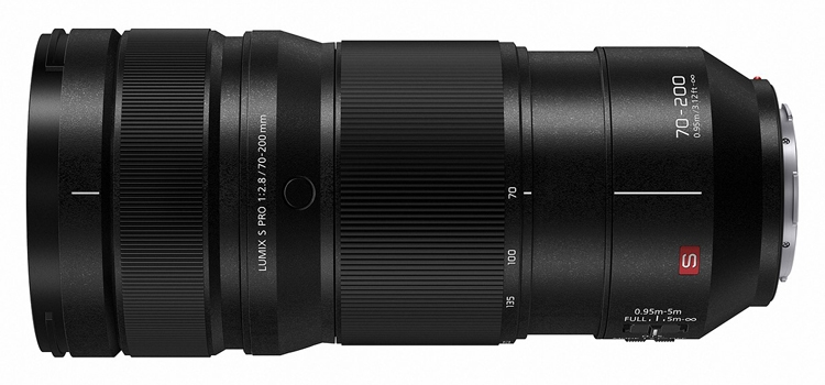 "Объектив Panasonic Lumix S Pro 70-200mm F2.8 O.I.S. со стабилизацией стоит $2600"""