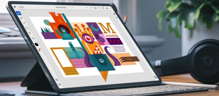 """Видеодемонстрация Illustrator для iPad на Adobe MAX 2019"""""""