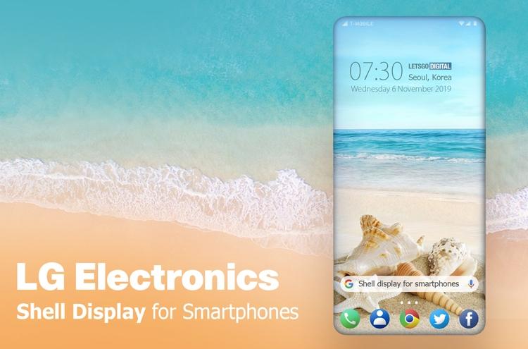 Смартфоны LG получат экран нового типа Shell Display