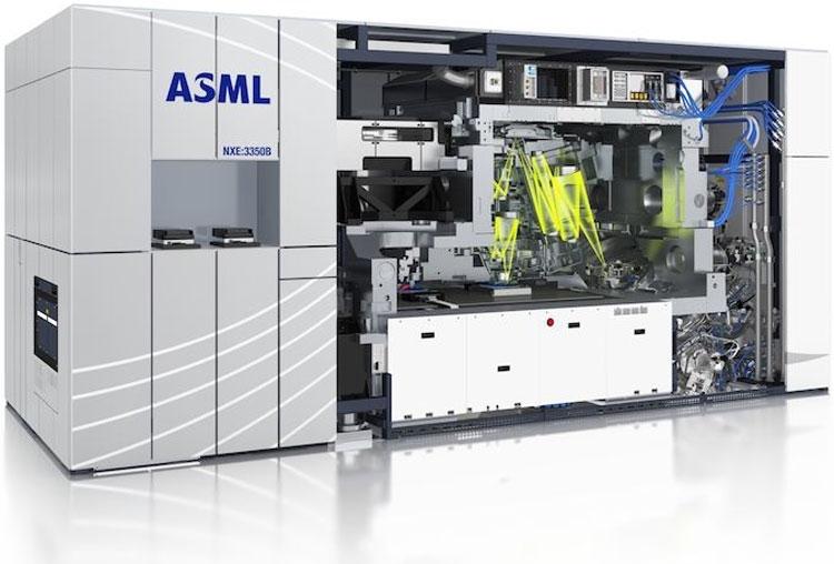EUV-сканер компании ASML, модель NXE:3350B