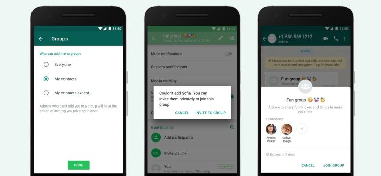 WhatsApp ужесточает политику работы с группами