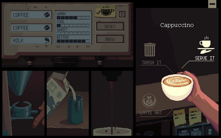 """Приключение Coffee Talk предложит готовить кофе и выслушивать проблемы 29 января"""""""