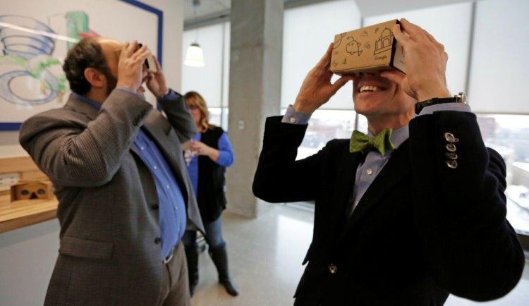 VR-платформа Google Cardboard становится открытой для разработчиков