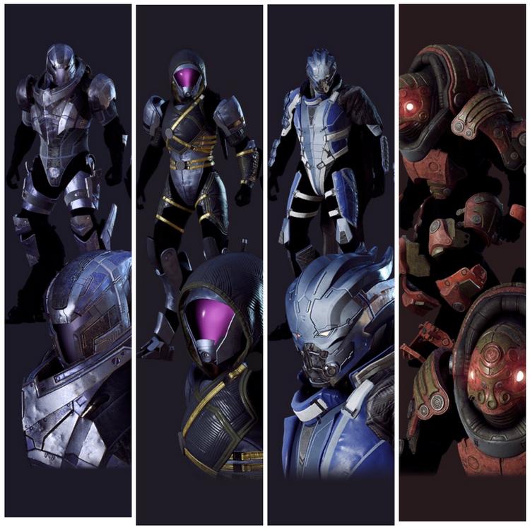 В честь дня N7 в Anthem появились облики рас Mass Effect для джавелинов, но не бесплатно