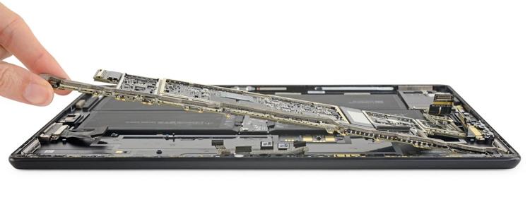 """Вскрытие Microsoft Surface Pro X: планшет удивил ремонтопригодностью"""""""