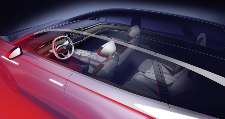 VW покажет вЛос-Анджелесе универсал ссалоном вдухе Tesla