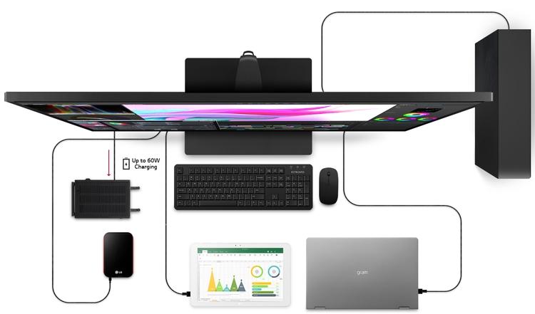 """LG 43UN700-B: огромный 4К-монитор с портом USB Type-C и 10-Вт динамиками"""""""
