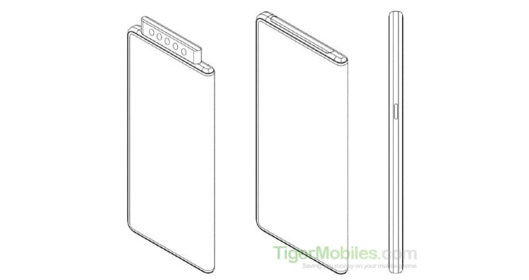 Xiaomi предложила выдвижную пентакамеру для смартфона с гибким экраном