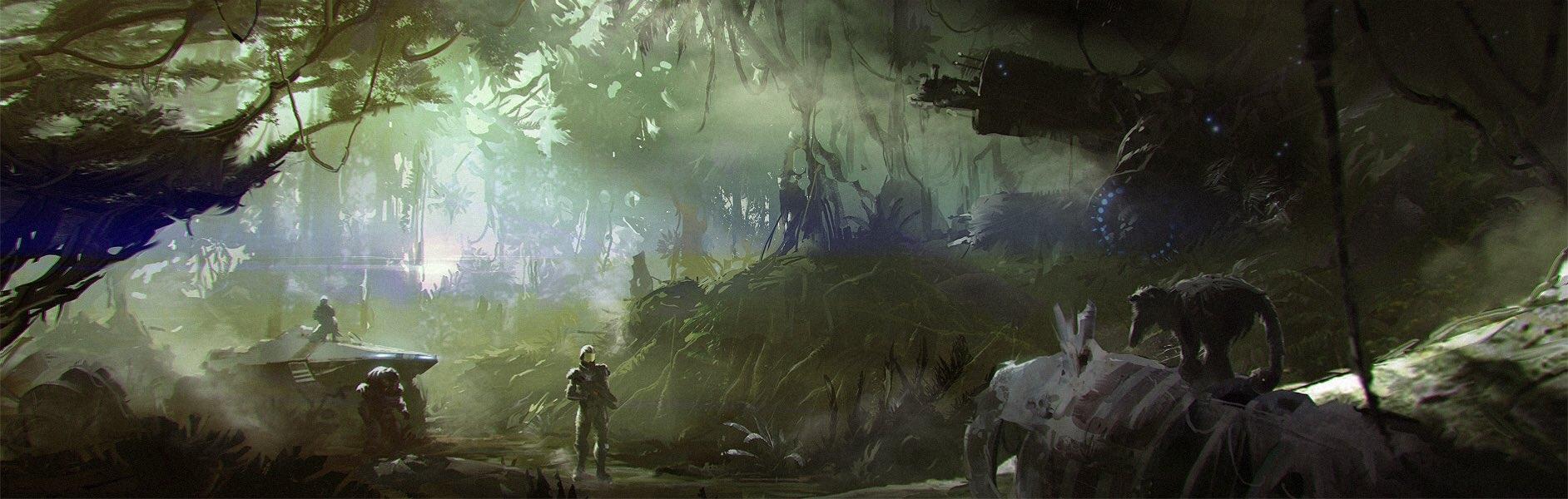 BioWare показала неиспользованные концептуальные рисунки Mass Effect