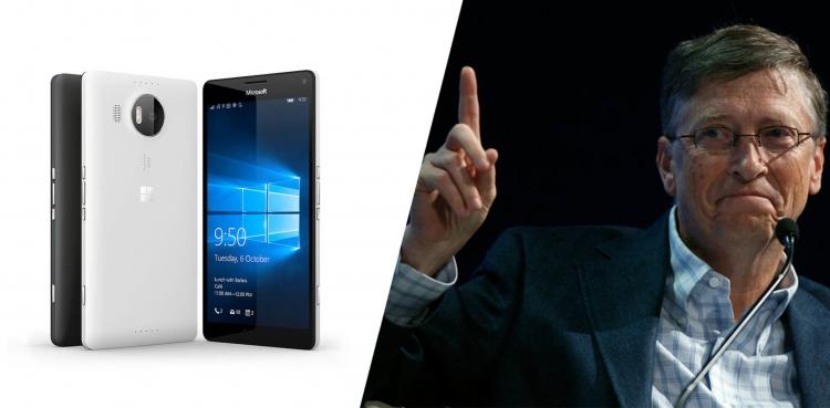 """Билл Гейтс считает, что Windows Mobile могла занять место Android"""""""