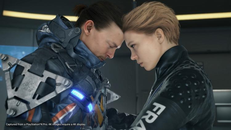 """Океаны слёз: реклама Death Stranding для PS4 Pro, а также отличия от базовой версии"""""""