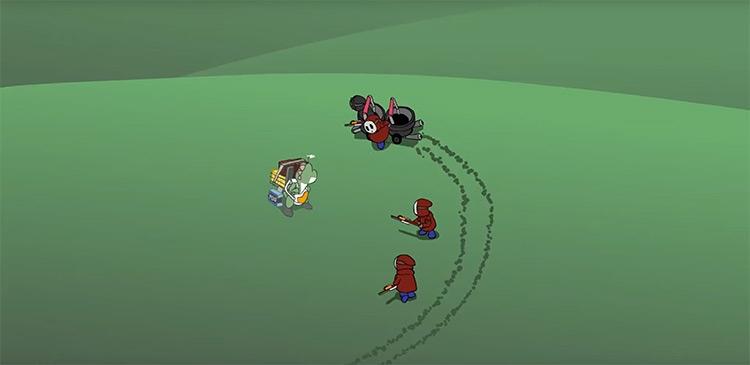 """Анимационная короткометражка-пародия смешивает Death Stranding и Mario"""""""