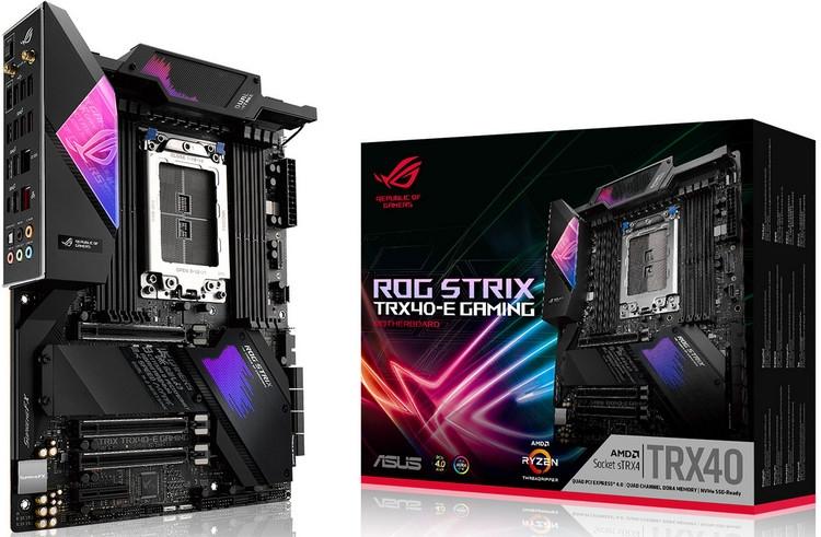 "ASUS представила ROG Zenith II Extreme и ещё две платы для Ryzen Threadripper 3000"""