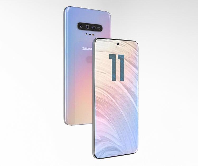 Концепт Samsung Galaxy S11 / изображения PhoneArena
