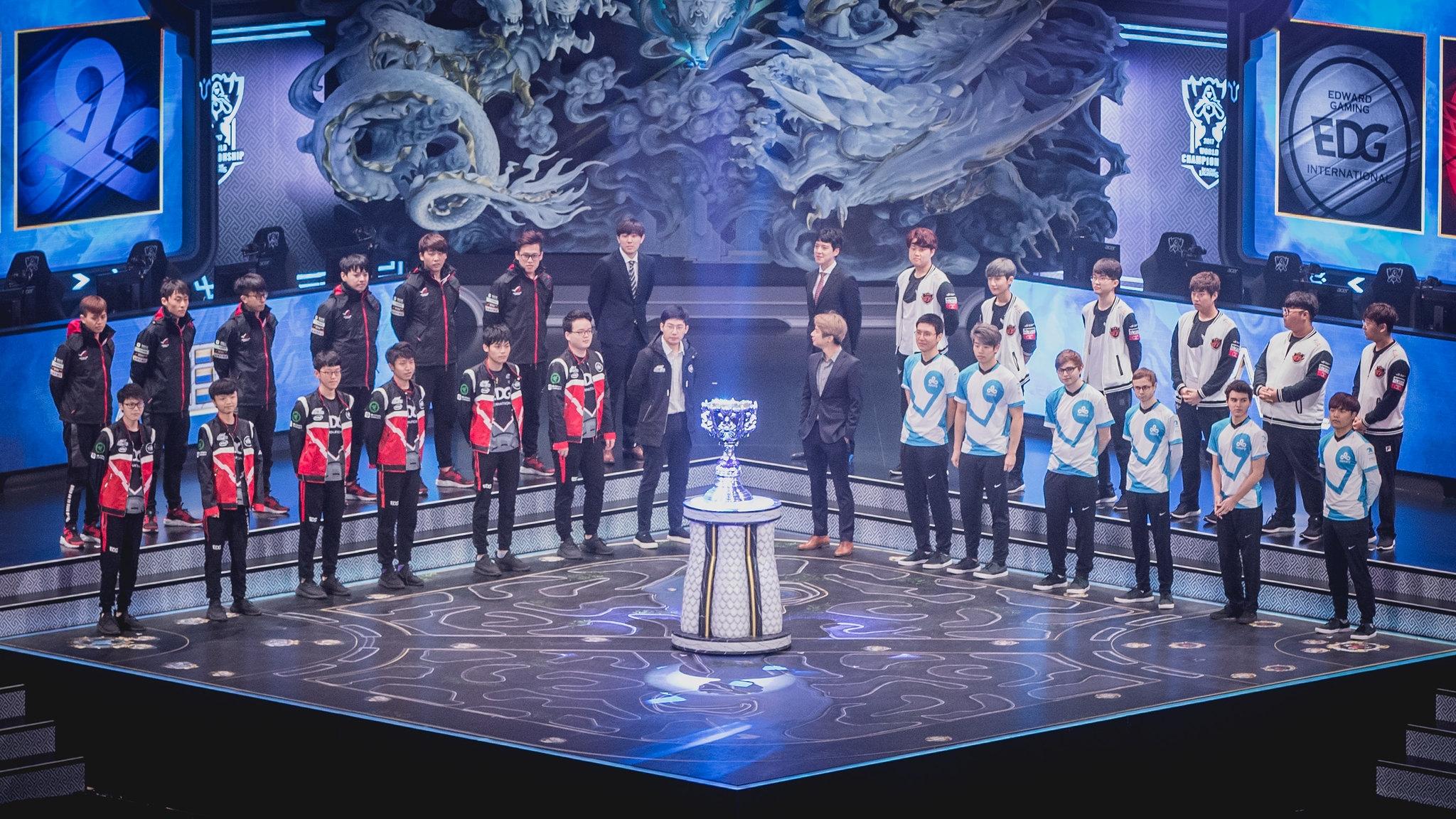 Компания Riot Games хочет провести национальный чемпионат по League of Legends