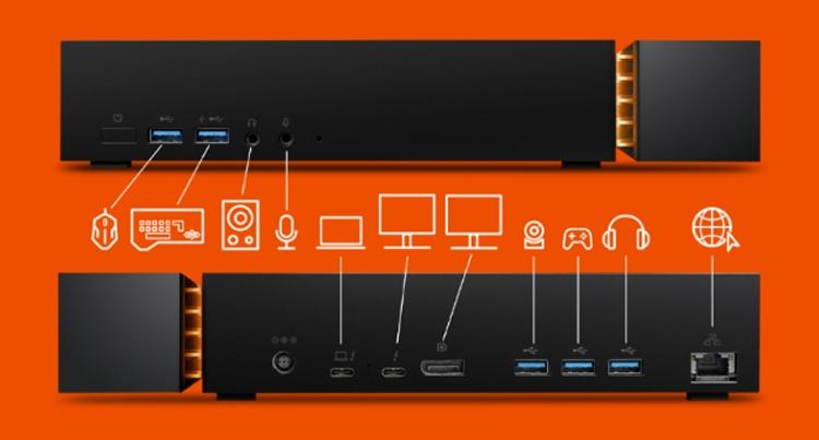 "Seagate FireCuda Gaming Dock: док-станция с жёстким диском на 4 Тбайт"""