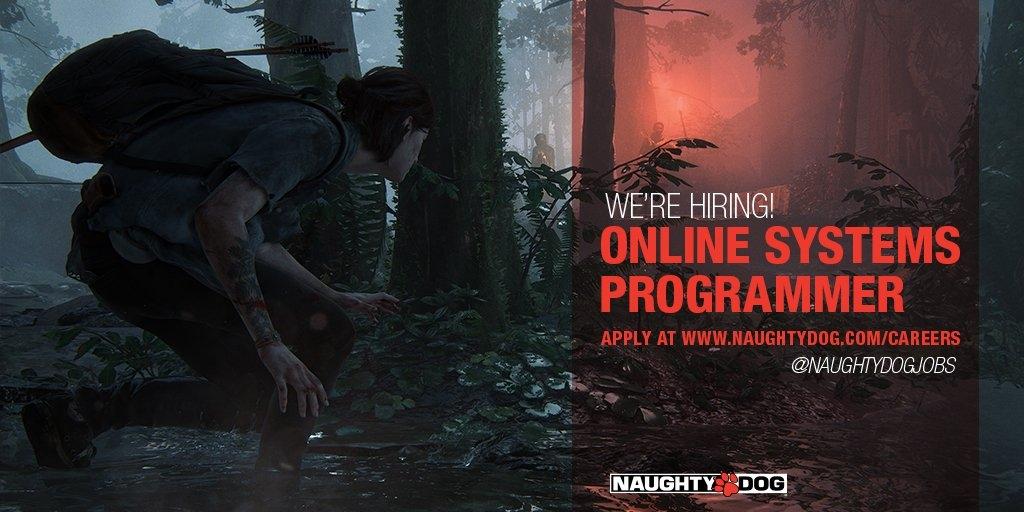 Naughty Dog намекнула на разработку мультиплеера The Last of Us Part II в одной из новых вакансий