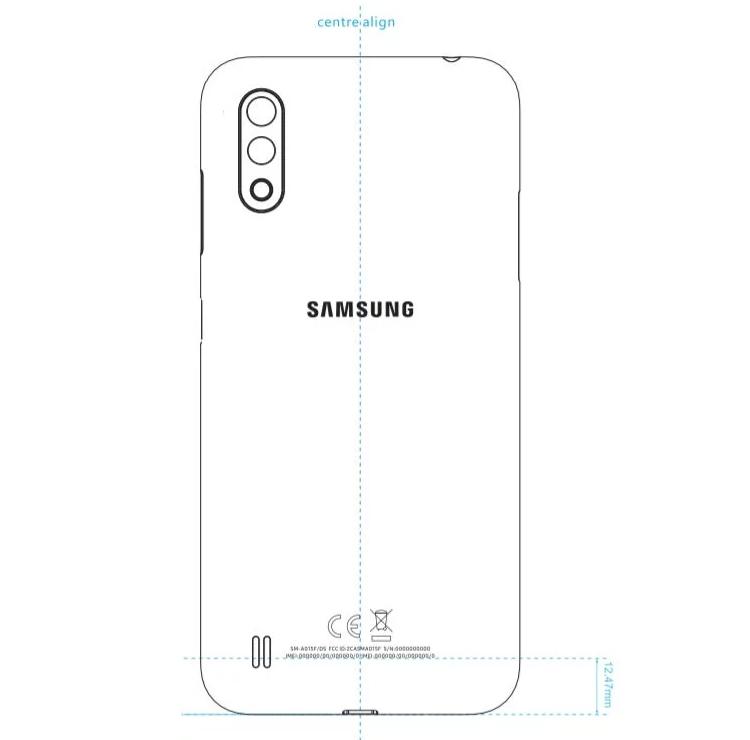 """Samsung выпустит бюджетный смартфон Galaxy A01 с 5,7"""" экраном"""""""