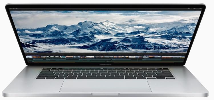 """Дебют нового Apple MacBook Pro: 16"""" экран Retina, исправленная клавиатура и на 80 % возросшее быстродействие"""""""