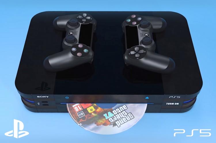 """Концептуальное видео крупной немецкой сети показывает PlayStation 5 и DualShock 5"""""""
