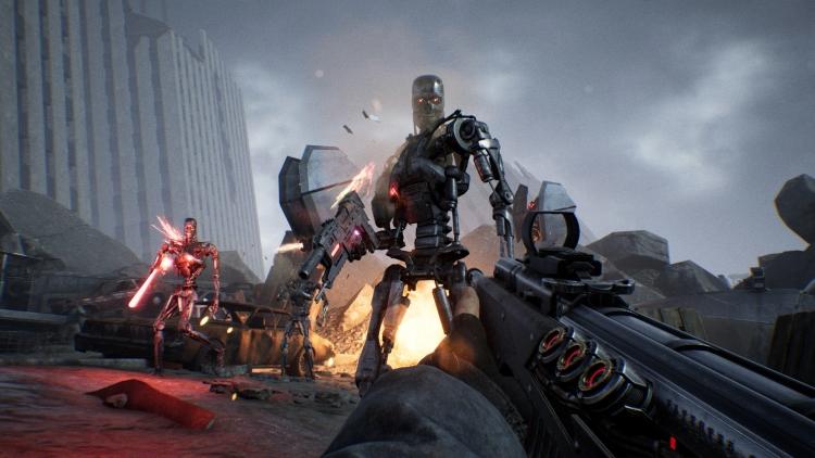 Противостояние машинам и разрушенный Лос-Анджелес в релизном трейлере Terminator: Resistance