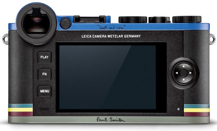 """Фотокамера Leica CL Edition Paul Smith получила необычное оформление"""""""