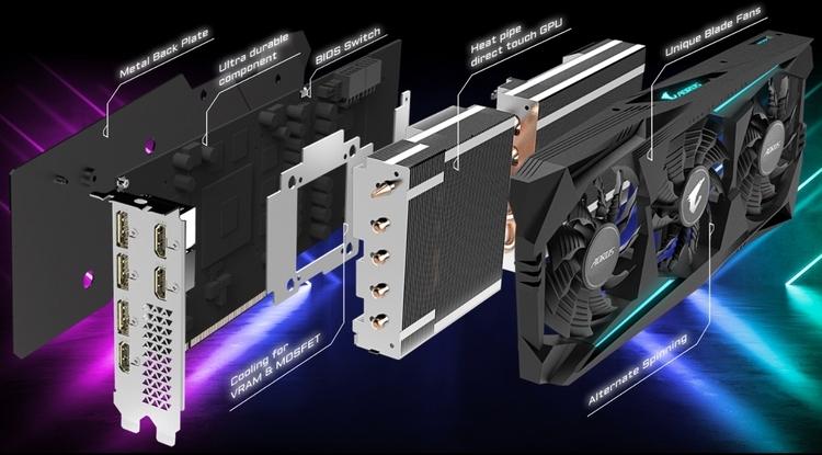 "Gigabyte представила Aorus Radeon RX 5700 XT со значительным заводским разгоном"""