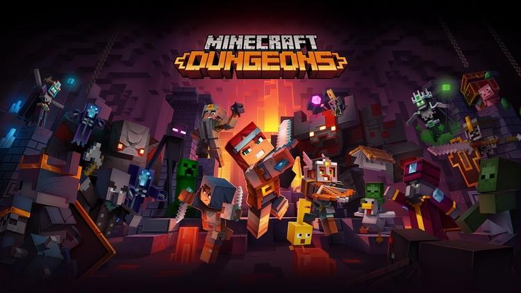 X019: Minecraft Dungeons выйдет в апреле 2020 года на всех актуальных платформах