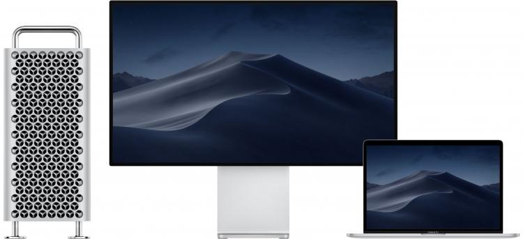 """MacBook Pro 16"""" одновременно может выводить изображение на 2 дисплея 6K, четыре 4K или один 5K и три 4K"""""""