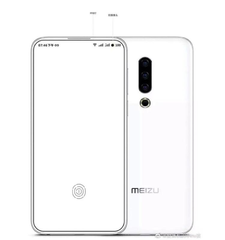 """Meizu предлагает оригинальное исполнение селфи-камеры в смартфонах"""""""