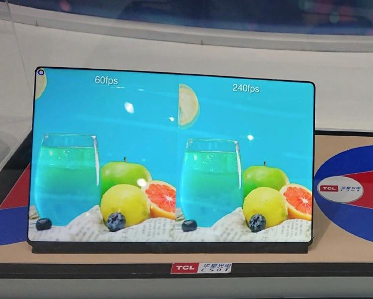 """TCL WQ Gaming: дисплей для игрового планшета с частотой обновления 240 Гц"""""""