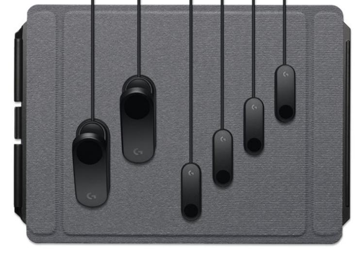 """Logitech G Adaptive Gaming Kit: набор нестандартных элементов управления для игр"""""""