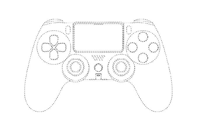"""Патент контроллера PlayStation 5 показал нам его возможный вид"""""""