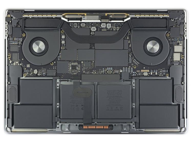 "iFixit: MacBook Pro 16"" совершенно не подлежит ремонту"""