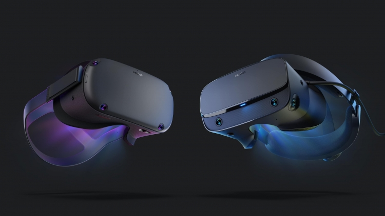 Шлемы виртуальной реальности Oculus Quest и Oculus Rift S