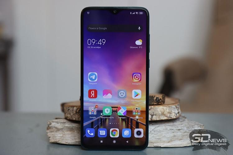 """Смартфон Xiaomi Redmi Note 8 Pro получил больше памяти"""""""