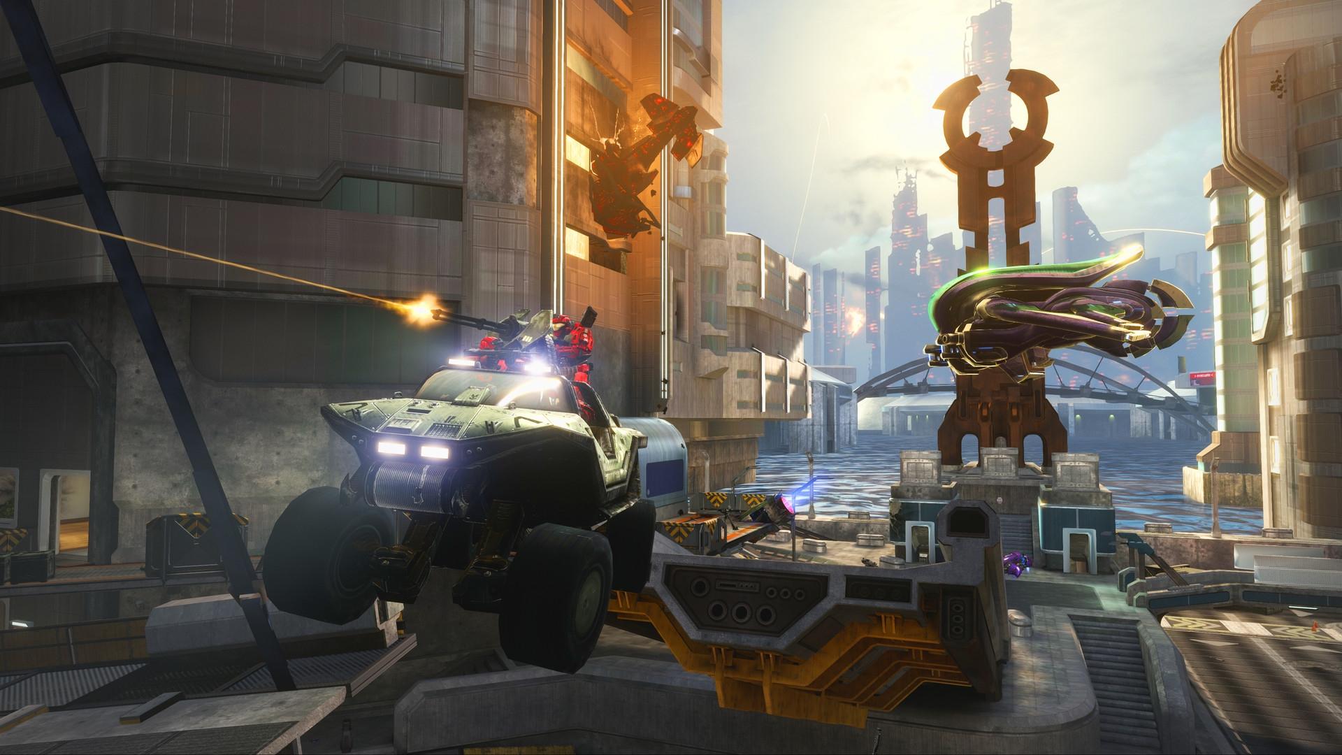 Видео: как Halo Reach на ПК улучшена по сравнению с Xbox 360