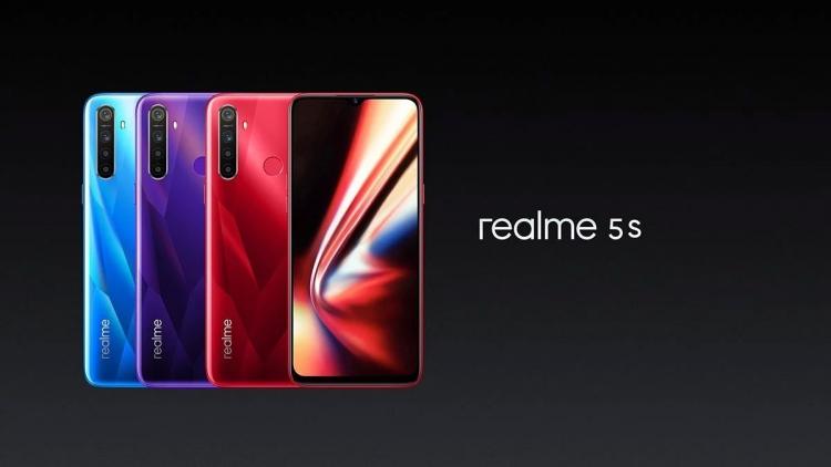 """Realme 5s получил 48-Мп камеру и оценён в $139"""""""