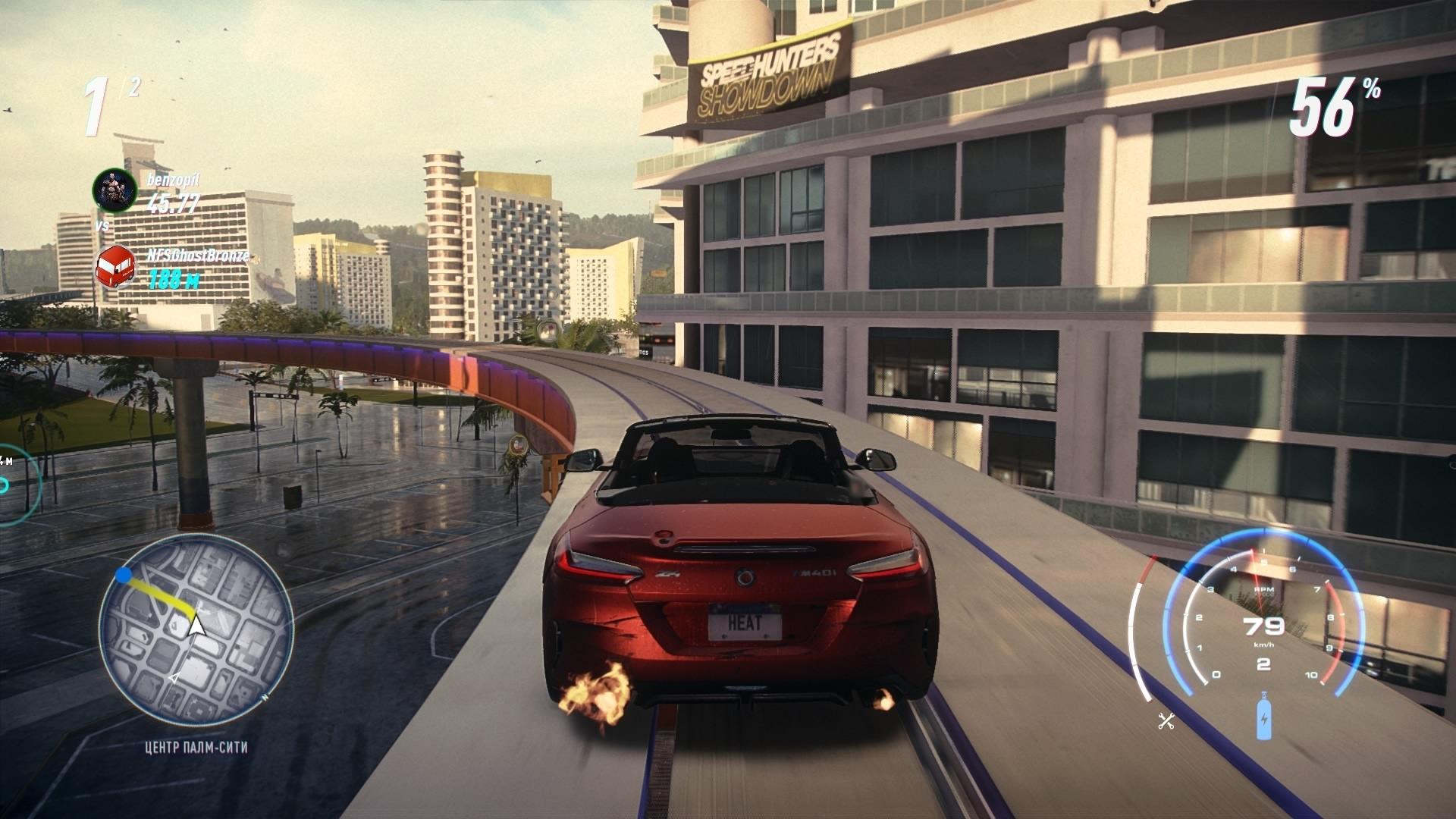На Need for Speed: Heat для Xbox One появилась скидка в 35 % спустя 12 дней после релиза