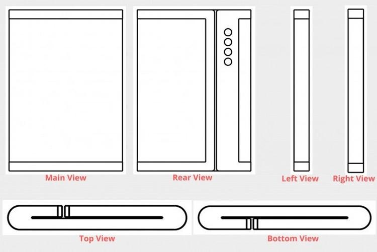 """Четверная камера и экран двойного складывания: Xiaomi патентует новый смартфон"""""""