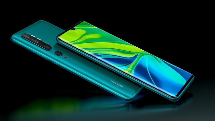 "Xiaomi представила в России смартфоны Mi Note 10 и Redmi Note 8T"""
